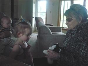 Naomi approaches Great Grandma